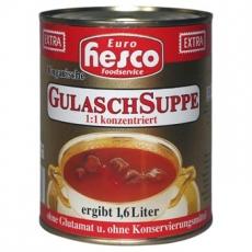 Ungarische Gulaschsuppe EXTRA, 850 ml, ergibt 1,6 Ltr. Suppe