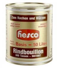 Rindbouillon 1 Kg für 50 Liter Bouillon