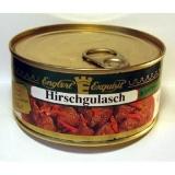 Hirschgulasch in kräftiger Wildrahmsauce, 300 g