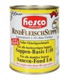 Rindsuppe 1:10 ohne Fleisch, 850 ml
